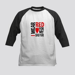 Red Sister Baseball Jersey