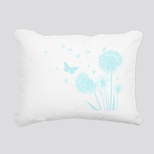 Dandelion Rectangular Canvas Pillow