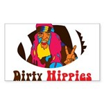 Dirty Hippies logo Sticker