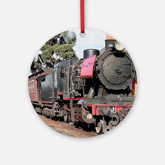 Goldfields steam locomotive, Vict Ornament (Round)