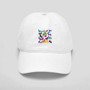 Rainbow Horses Cap