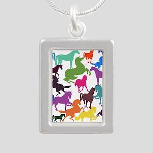Rainbow Horses Necklaces