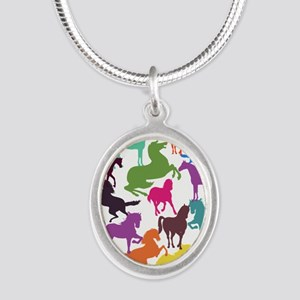Rainbow Horses Necklaces