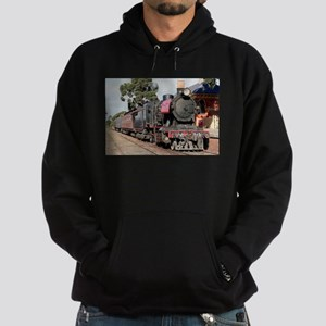 Goldfields steam engine locomotive J Hoodie (dark)