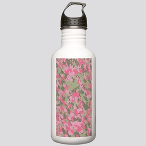 Pink Bunnyflage 2 Stainless Water Bottle 1.0L