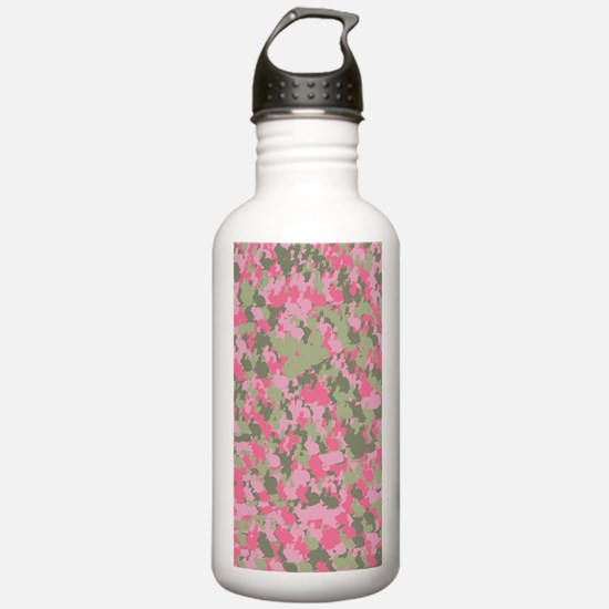Pink Bunnyflage 2 Water Bottle