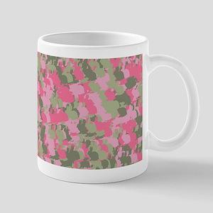Pink Bunnyflage 2 Mugs