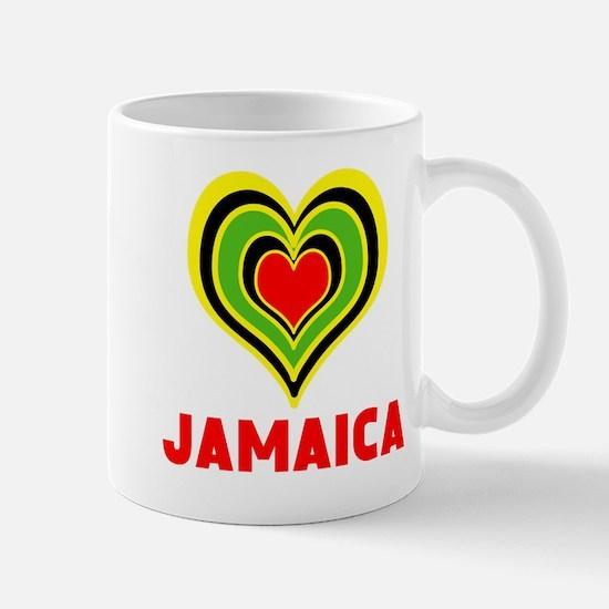 JAMAICA HEART Mugs