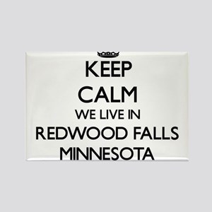 Keep calm we live in Redwood Falls Minneso Magnets