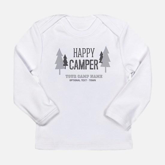 Cute Camp Long Sleeve Infant T-Shirt