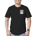 Jehan Men's Fitted T-Shirt (dark)