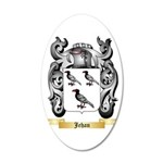 Jehan 20x12 Oval Wall Decal