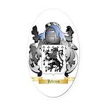 Jefreys Oval Car Magnet