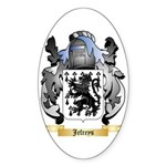 Jefreys Sticker (Oval 50 pk)