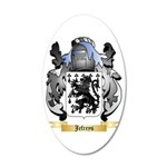 Jefreys 20x12 Oval Wall Decal
