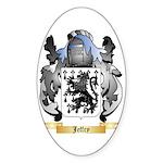 Jeffry Sticker (Oval 50 pk)