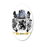 Jeffry 20x12 Oval Wall Decal