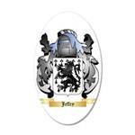 Jeffry 35x21 Oval Wall Decal