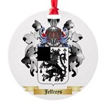 Jeffreys 1 Round Ornament