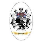 Jeffreys 1 Sticker (Oval 10 pk)