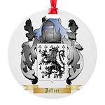 Jeffree Round Ornament