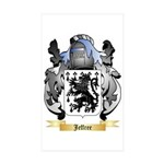 Jeffree Sticker (Rectangle 10 pk)