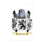 Jeffree Sticker (Rectangle 50 pk)