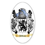 Jeffkins Sticker (Oval 10 pk)