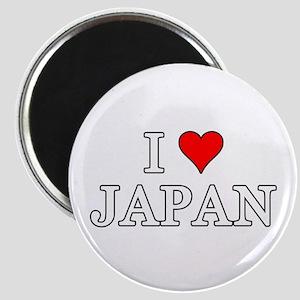 I Love Japan Magnets
