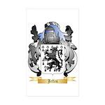 Jeffes Sticker (Rectangle 50 pk)