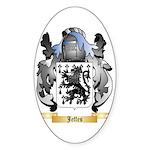 Jeffes Sticker (Oval 50 pk)
