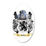 Jeffes 20x12 Oval Wall Decal
