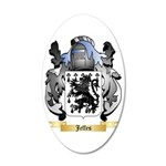 Jeffes 35x21 Oval Wall Decal