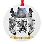 Jefferys Round Ornament