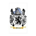 Jefferys Sticker (Rectangle 50 pk)