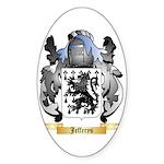 Jefferys Sticker (Oval 50 pk)