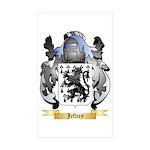 Jeffery Sticker (Rectangle 50 pk)