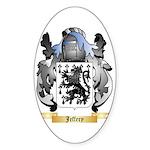 Jeffery Sticker (Oval 10 pk)