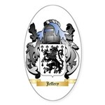 Jeffery Sticker (Oval 50 pk)