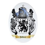 Jeffery Ornament (Oval)