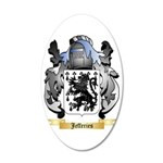 Jefferies 35x21 Oval Wall Decal