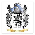 Jefferey Square Car Magnet 3