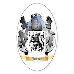 Jefferey Sticker (Oval)