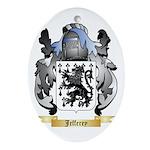 Jefferey Ornament (Oval)