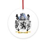 Jefferey Ornament (Round)