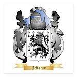 Jefferay Square Car Magnet 3