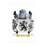 Jeffer Sticker (Rectangle 50 pk)