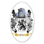 Jeffer Sticker (Oval 50 pk)