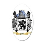 Jeffer 20x12 Oval Wall Decal