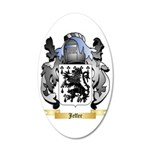 Jeffer 35x21 Oval Wall Decal
